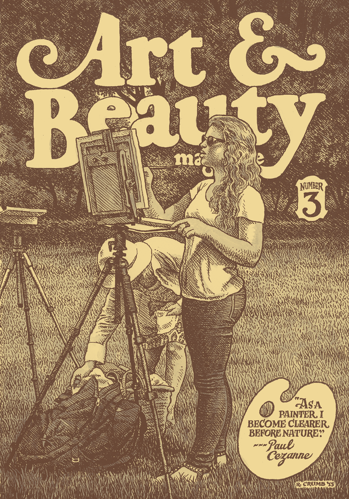 Art and Beauty Magazine Number 3 By R. Crumb