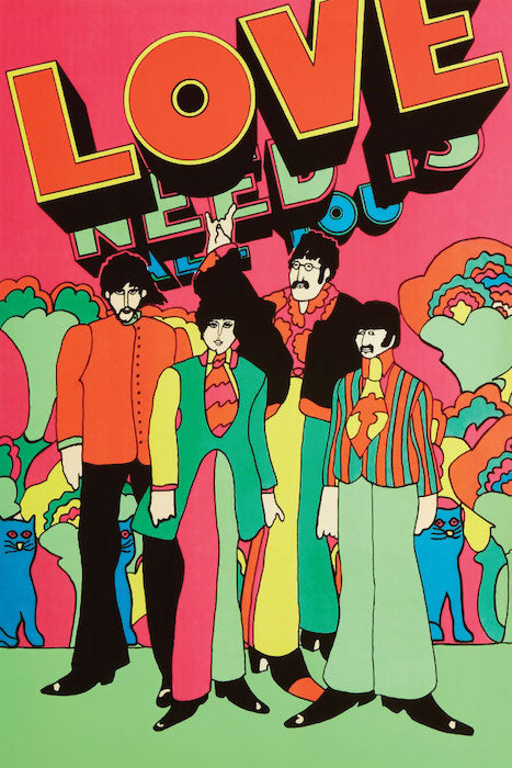 "Beatles- All You Need Is Love Poster 24"" x 36"""
