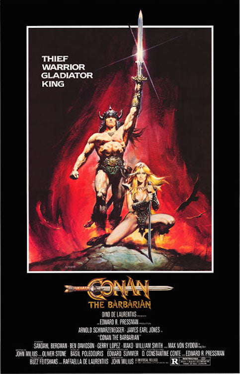 "Conan The Barbarian 24"" x 36"" Movie Poster"