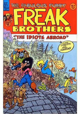 The Fabulous Furry Freak Brothers No. 8