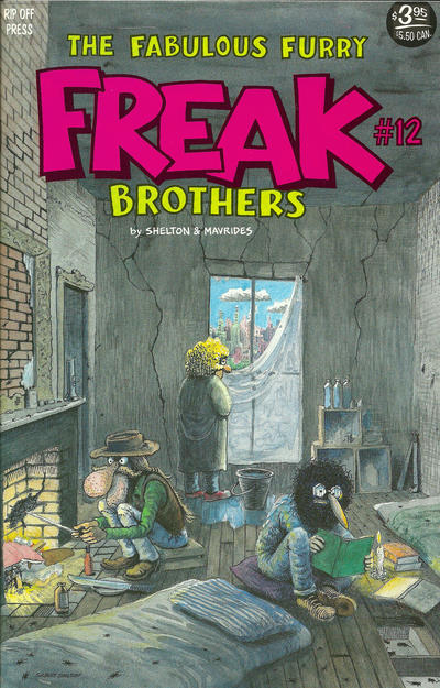 The Fabulous Furry Freak Brothers #12