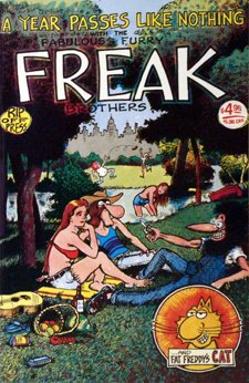 The fabulous Furry Freak Brothers #3