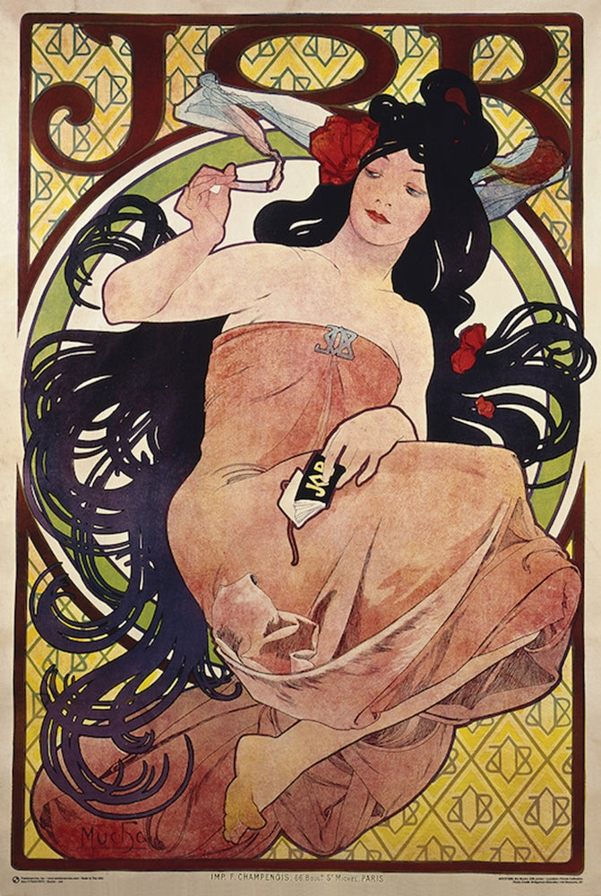Job Rolling Papers A. Mucha Poster