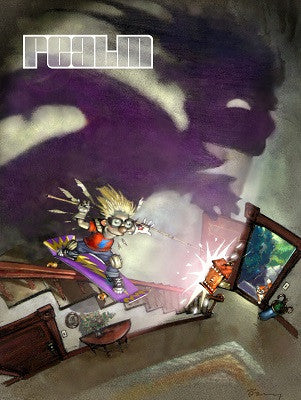 Realm #8: The best of Everyman Comics