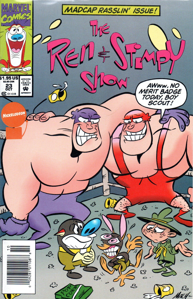 Ren and Stimpy Show Comicbook #23