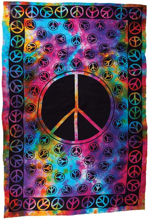 "Peace tapestry 72"" x 108"""