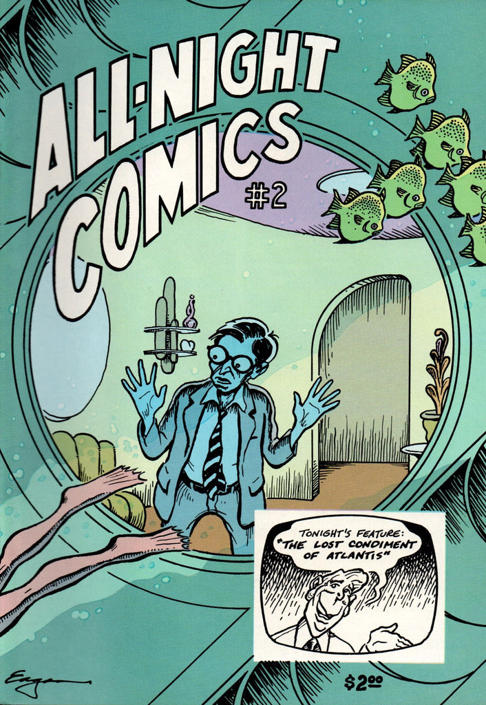ALL NIGHT COMICS #2 Tim Eagan