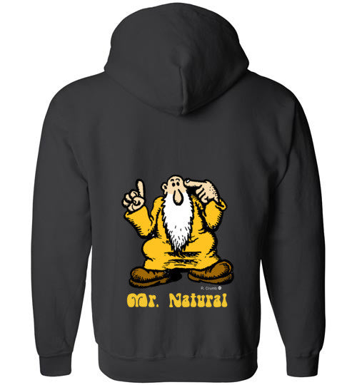 R. Crumb Mr. Natural Zip Hoodie