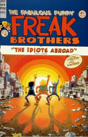 The Fabulous Furry Freak Brothers No.10