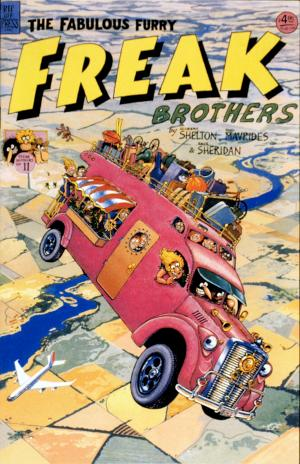 The Fabulous Furry Freak Brothers No. 11