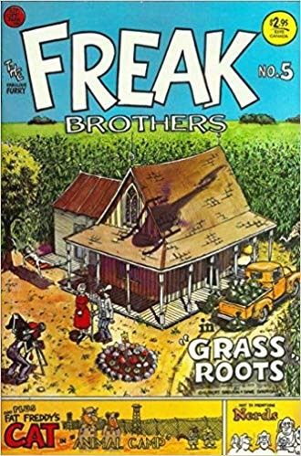 The Fabulous Furry Freak Brothers #5