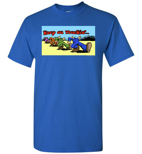 R. Crumb's Keep On Truckin' Value T-Shirt