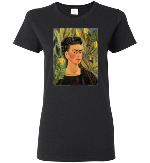 Frida Kahlo Self Portrait wit Bonita Women's T-Shirt