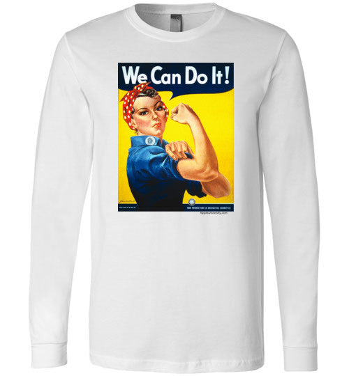 Rosie the Riveter Long Sleeve T-Shirt
