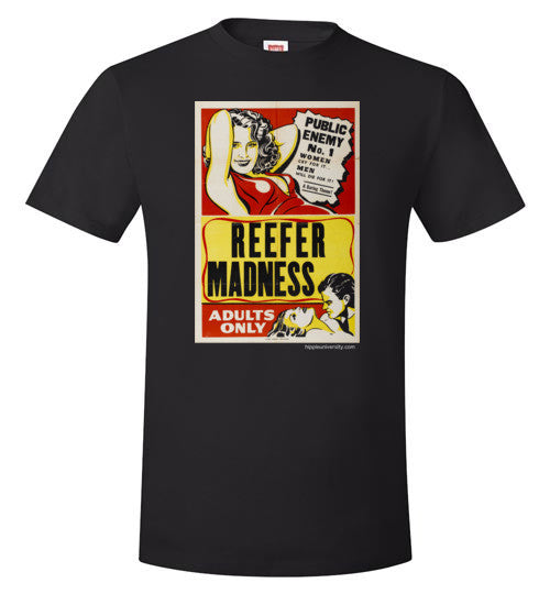 Reefer Madness: Public Enemy No. 1 Value T-Shirt