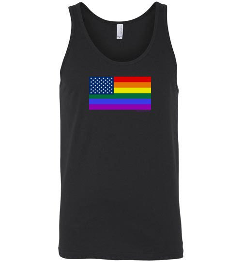 U.S. Rainbow Flag Premium Tank Top