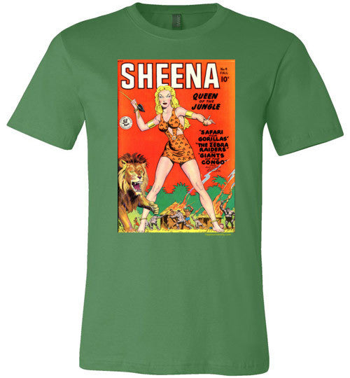 Sheena Queen of the Jungle Premium Made in USA T-Shirt