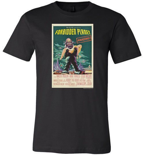 Forbidden Planet Made in USA Premium T-Shirt