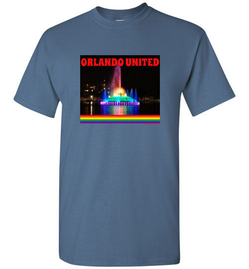 Orlando United Lake Eola Fountain T-Shirt