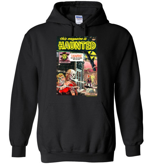 Haunted Magazine Cover Hoodie