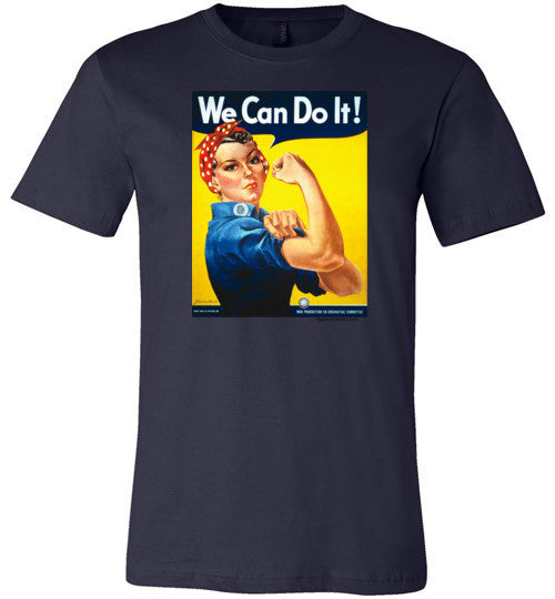 Rosie The Riveter Made in USA Premium T-Shirt