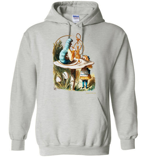 Alice and the Caterpillar Hoodie