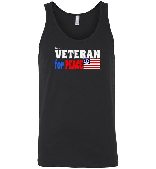 I'm a Veteran for Peace Premium Tank Top