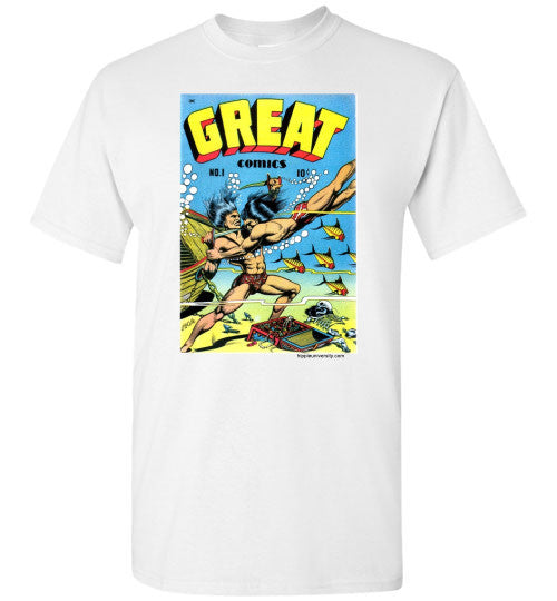 Great Comics Cover Art By L.B. Cole Value T-Shirt