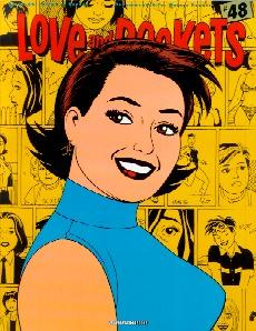 Love and Rockets #48 By Gilbert and Jaime Hernandez