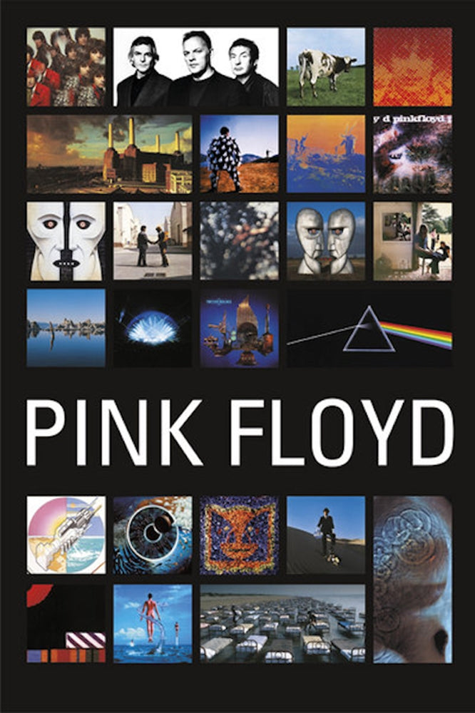 "Pink Floyd Discography Poster 24"" x 36"""