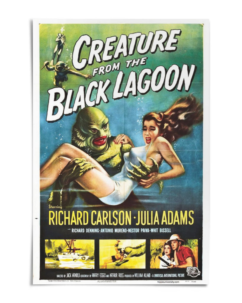 "Creature from the Black Lagoon 24"" x 36"" Movie Poster"