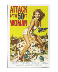 "Attack of the 50 ft. Woman 24"" x 36"" Movie Poster - US & CA Availability"
