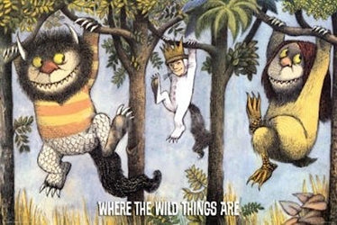 "Where The Wild Things Are Poster 24"" x 36"""