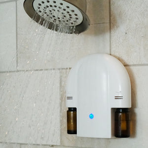 oasis diffusers essential oil shower diffuser