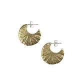 Amanda Hunt Eclipse Hoops Bronze