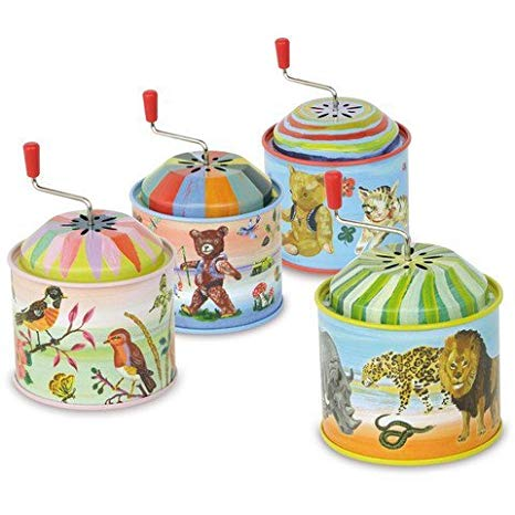 Tin Music Boxes (4 colors)