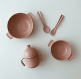 Rose Sippy Cup Set