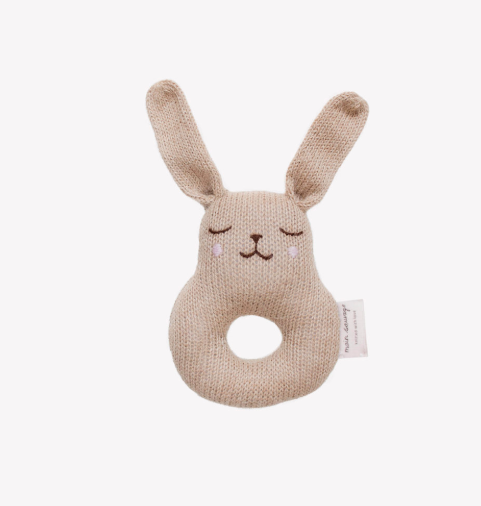 Main Sauvage Bunny Rattle