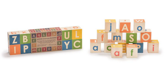 Uncle Goose Upper & Lowercase Blocks