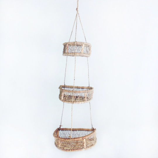 Half Circle Hanging Basket