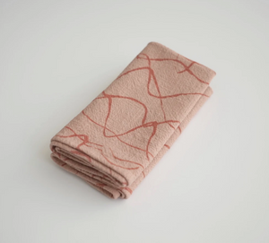 Jenny Pennywood Weave Teracotta/Dusty Coral Napkin Set (LAST ONE)