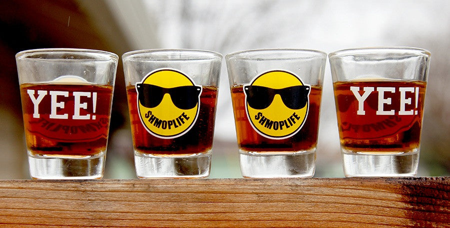 SHMOPLIFE SHOT GLASS SET  ACCESSORIES - SHMOPLIFE GEAR