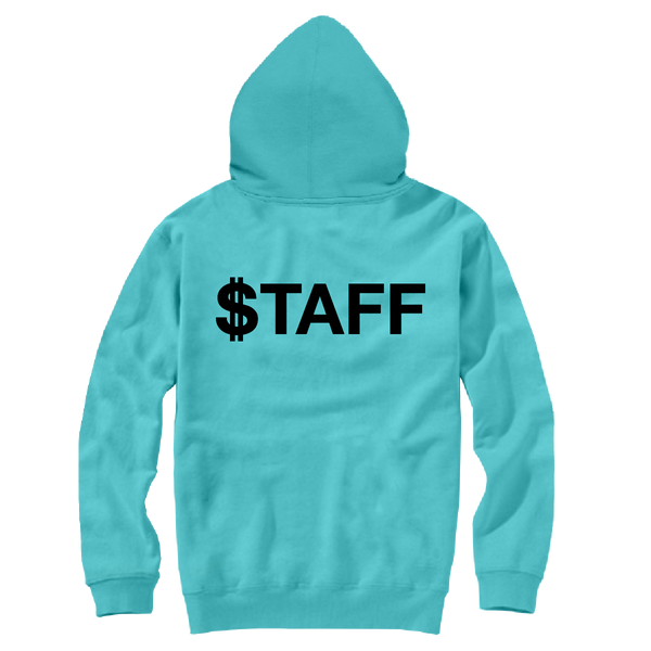 FUNDRAISER PATCH HOODY TEAL