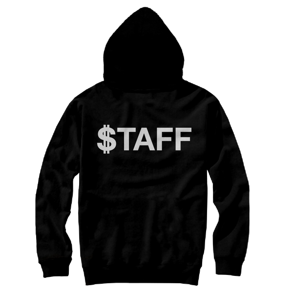 FUNDRAISER PATCH HOODY BLACK