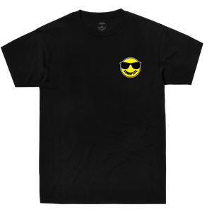 SHMOPLIFE LOGO TEE IN BLACK  T-SHIRTS - SHMOPLIFE GEAR