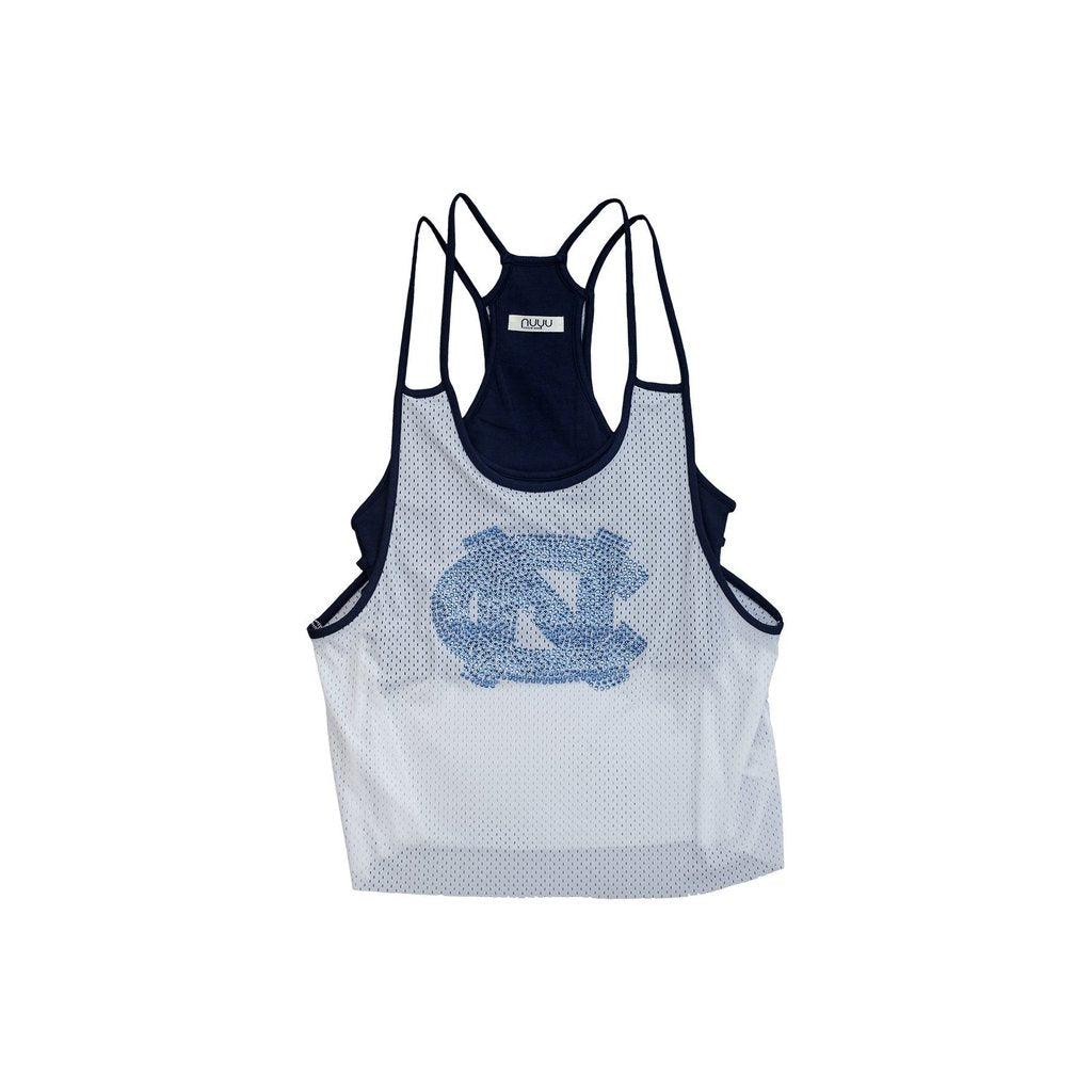 University of North Carolina Chapel Hill Rhinestone Mesh Tank