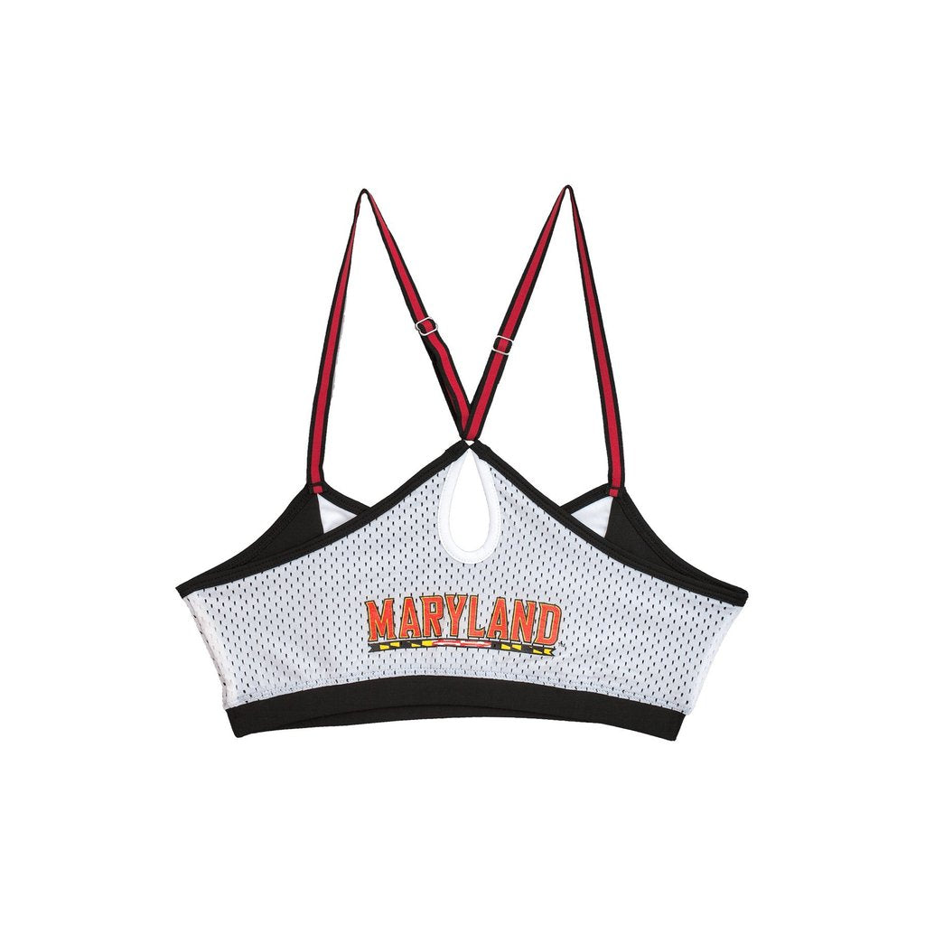 University of Maryland Sporty Bralette with Keyhole