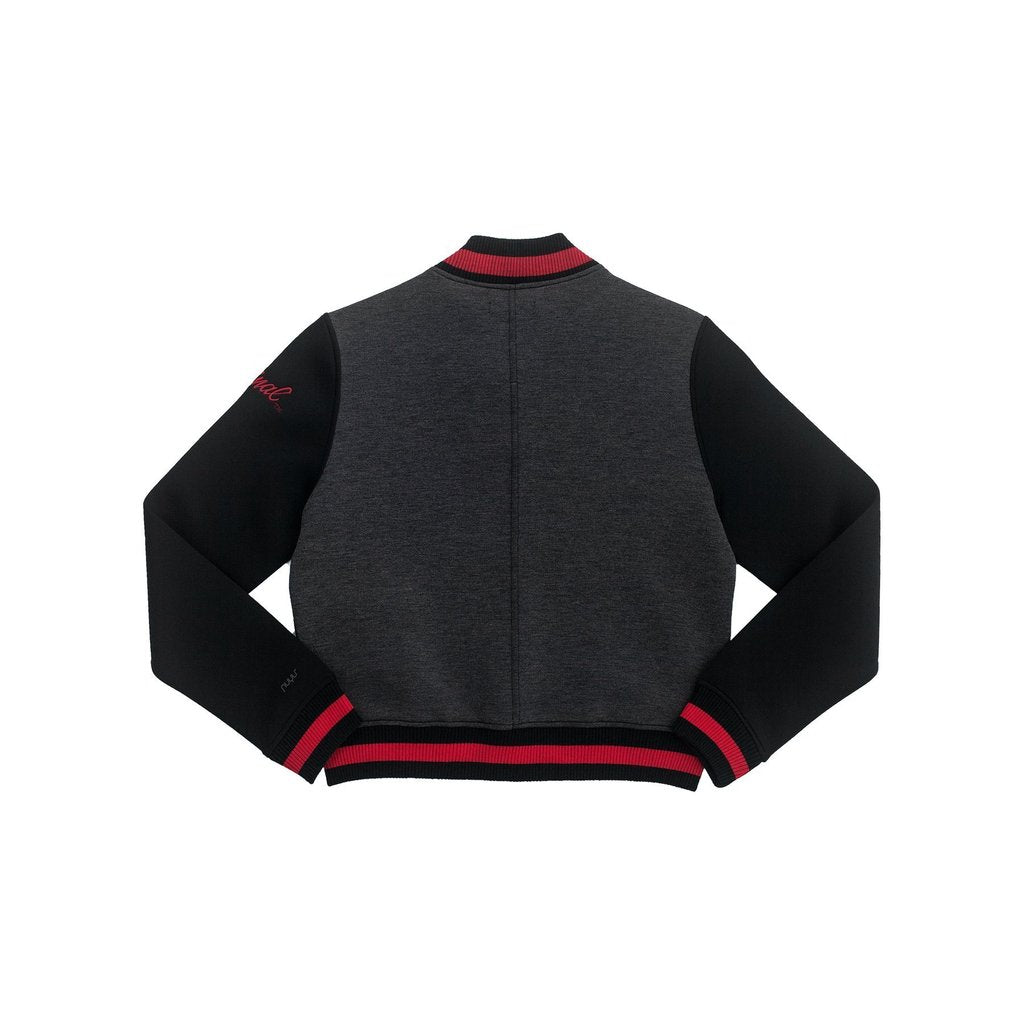 Stanford Cropped Varsity Jacket
