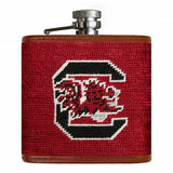 University of South Carolina Needlepoint Flask