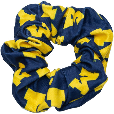 University of Michigan Hair Scrunchie